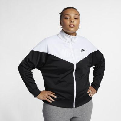 eb2977a05f Veste de survêtement Nike Sportswear Heritage pour Femme (grande taille)