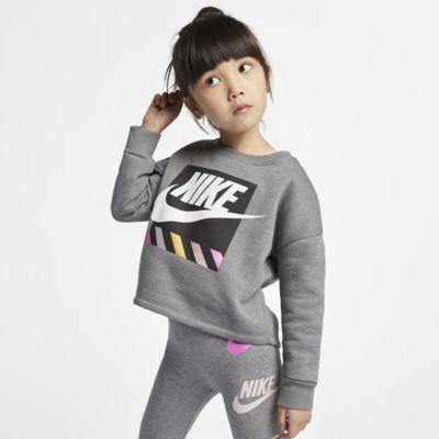 Nike Little Kids' Long-Sleeve Fleece Top