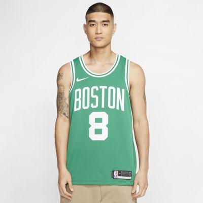 Kemba Walker Celtics Icon Edition Nike NBA Swingman Jersey för män