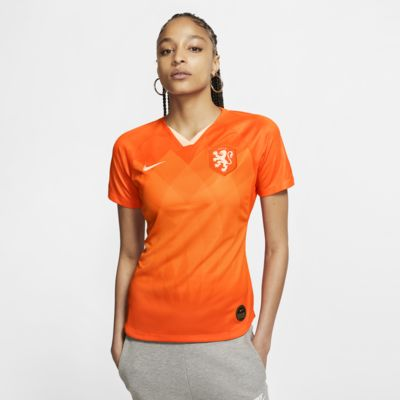 Camiseta de fútbol para mujer Netherlands 2019 Stadium Home