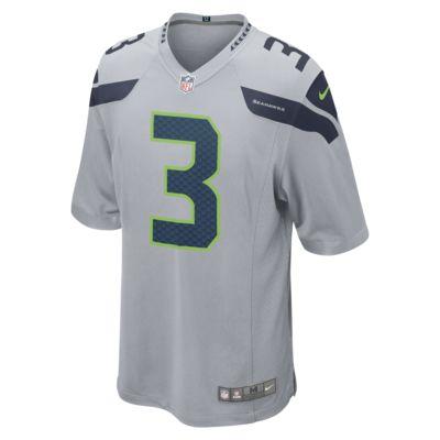 Maillot de football américain NFL Seattle Seahawks (Russell Wilson) pour Homme