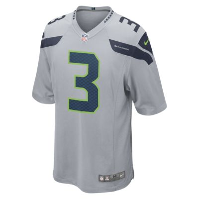 NFL Seattle Seahawks (Russell Wilson) Men's Game American Football Jersey