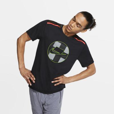 Haut de running en mesh à manches courtes Nike Wild Run pour Homme