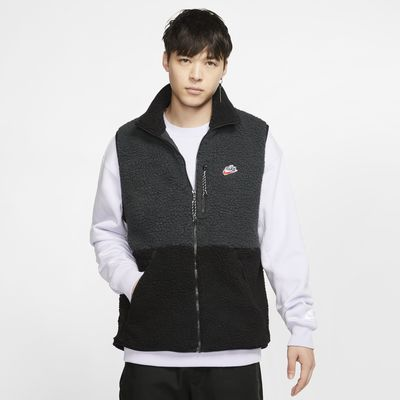 Мужской жилет из флиса Sherpa Nike Sportswear