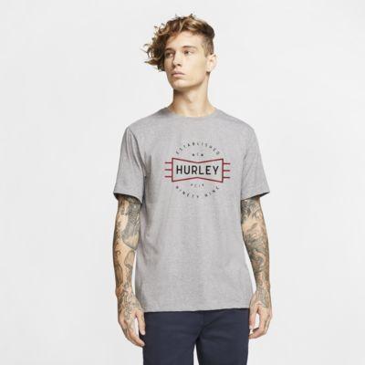 T-shirt Hurley Bow Tie med premiumpassform för män