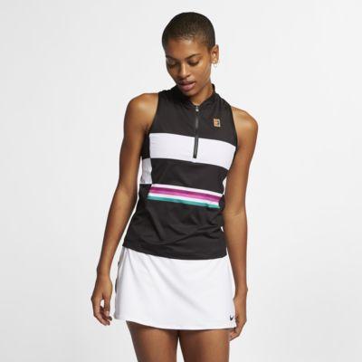 NikeCourt Power Slam Tennistanktop met print voor dames