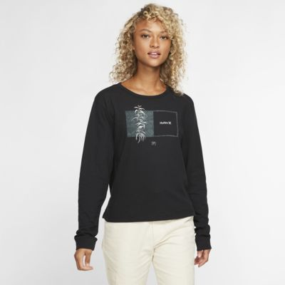 T-shirt a manica lunga Hurley Sig Zane Perfect - Donna
