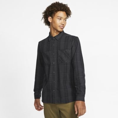 Hurley Hendrick Men's Long-Sleeve Flannel