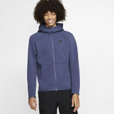 Nike Sportswear Tech Fleece Tam Boy Fermuarlı Erkek Kapüşonlu Üst