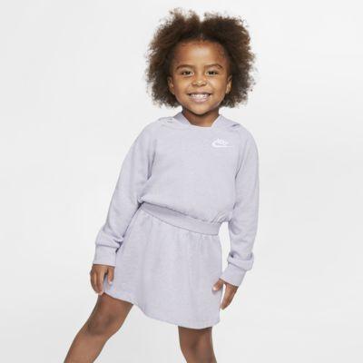 Nike Sportswear Toddler Long-Sleeve Hooded Dress