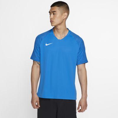 Męska koszulka piłkarska z krótkim rękawem Nike Breathe Strike