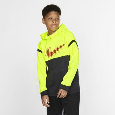 Nike Therma Boys' Graphic Training Pullover Hoodie