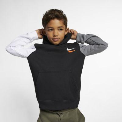 Nike Sportswear Club Fleece Big Kids' (Boys') Pullover Hoodie