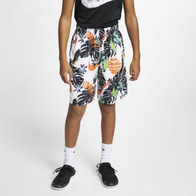 Tréninkové kraťasy Nike Dri-FIT s potiskem pro větší děti (chlapce)