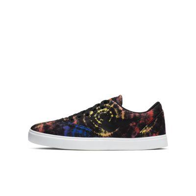 Nike SB Check Tie-Dye Big Kids' Skate Shoe