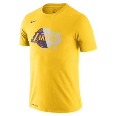Los Angeles Lakers Nike Dri-FIT NBA Erkek Tişörtü