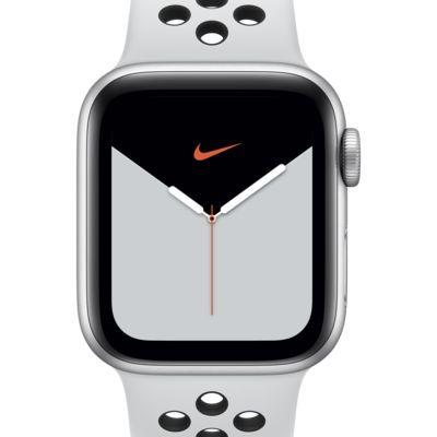 Apple Watch Nike Series 5 (GPS) con correa Nike Sport con caja de aluminio plateado de 40 mm