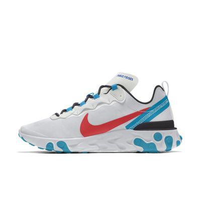 Nike React Element 55 By You Custom lifestyleschoen voor heren