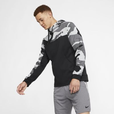 Ανδρική μπλούζα προπόνησης με κουκούλα Nike Therma