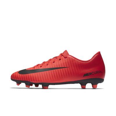 รองเท้าสตั๊ดฟุตบอลสำหรับพื้นสนามทั่วไป Nike Mercurial Vortex III