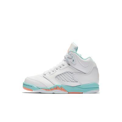 Jordan 5 Retro GP 复刻幼童运动童鞋
