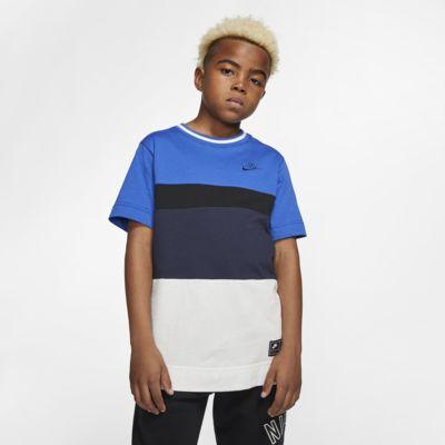 Kortärmad tröja Nike Air för ungdom (killar)
