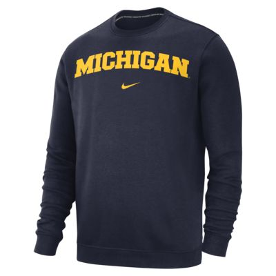 Nike College Club (Michigan) Men's Sweatshirt