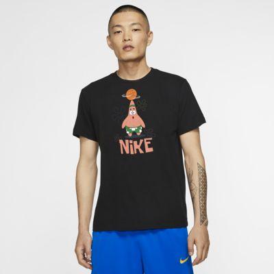 Tee-shirt de basketball Kyrie Nike Dri-FIT « SpongeBob » pour Homme