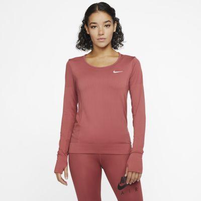 Женская беговая футболка с длинным рукавом Nike Infinite