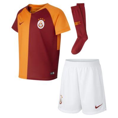 Kit de fútbol para niños talla pequeña de local Stadium del Galatasaray S.K. 2018/19