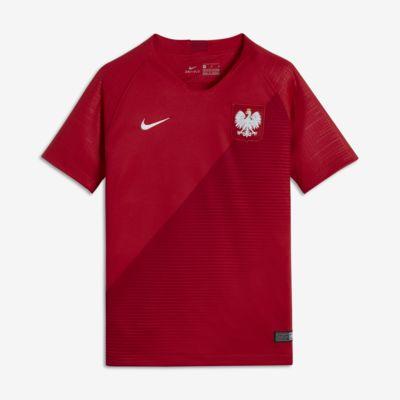 2018 Polonya Stadyum Deplasman Genç Çocuk Futbol Forması