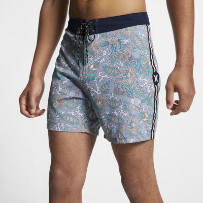Shorts de playa de 41 cm para hombre Hurley Phantom Tombstone