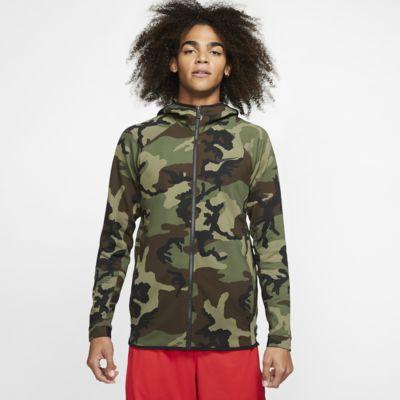 Nike Therma Flex Showtime-basketballhættetrøje med print til mænd