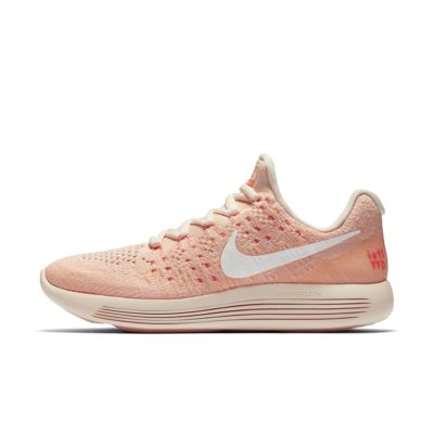 Light Violet/Hyper Violet/Fuchsia Glow/White Nike Lunar Epic Low Flyknit 2 IWDRunning Shoes for Wome