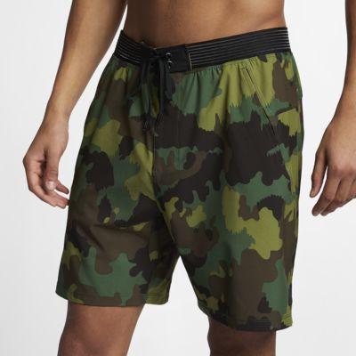 "Hurley Phantom Alpha Trainer Men's 18"" Camo Shorts"