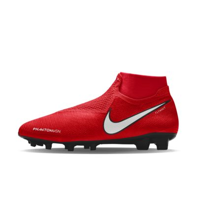 Chaussure de football à crampons pour terrain sec personnalisable Nike Phantom Vision Elite FG By You