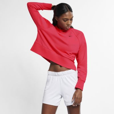 Långärmad yogatröja Nike Dri-FIT för kvinnor