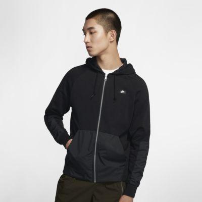 Nike Sportswear 男款全長式拉鍊連帽上衣