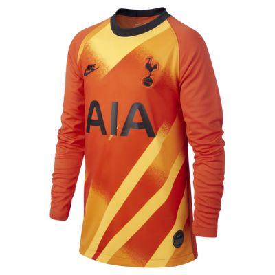 Brankářský fotbalový dres pro větší děti Tottenham Hotspur 2019/20 Stadium