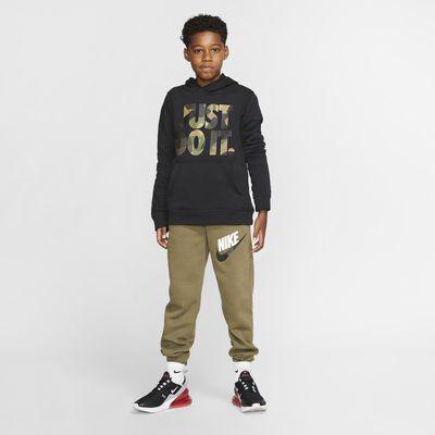 Nike Sportswear Club Big Kids' (Boys') Camo Hoodie