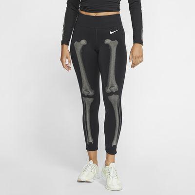 Nike Damen-Tights mit Skelettgrafik