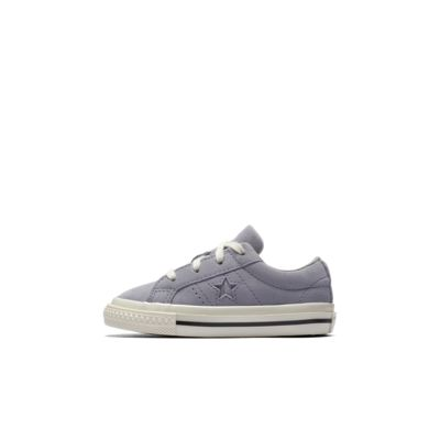 Converse One Star Precious Metal Suede Low Top Infants' Shoe