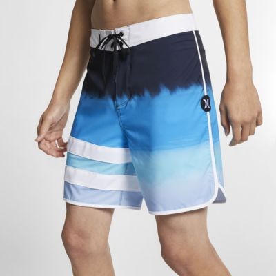 Shorts de playa de 46 cm para hombre Hurley Phantom Block Party Fever