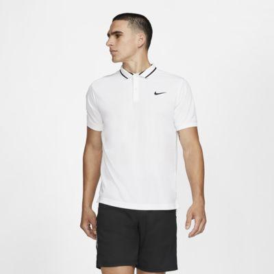 NikeCourt Dri-FIT 男子网球翻领T恤