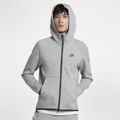M?ska bluza z kapturem i zamkiem na ca?ej d?ugo?ci Nike Sportswear Tech Fleece