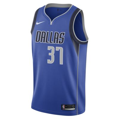 Maillot connecté Nike NBA Kostas Antetokounmpo Icon Edition Swingman (Dallas Mavericks) pour Homme