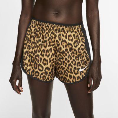 Nike Tempo Lux-løbeshorts med print til kvinder