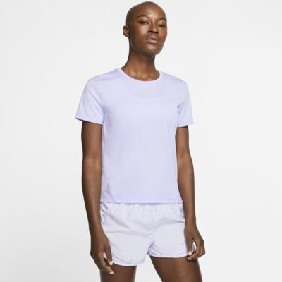 เสื้อวิ่งแขนสั้นผู้หญิง Nike Miler