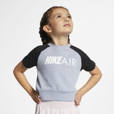 Nike Air-overdel i afkortet design til små børn