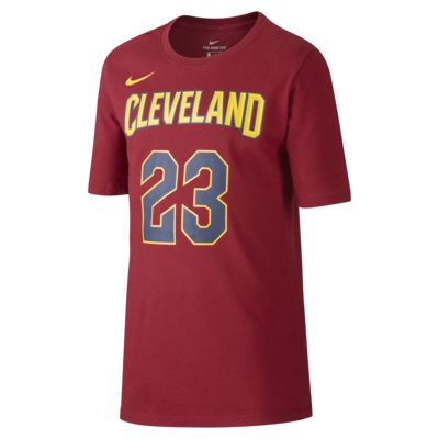 Nike Icon NBA Cavaliers (James) Basketbalshirt voor jongens